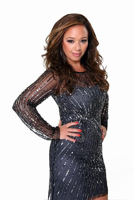 Leah Remini  How you know her: The star of The King of Queens recently made headlines when she left the Church of Scientology.  Her DWTS stereotype: The sexy star who can dance circles around the younger competition. Her partner: Tony Dovolani