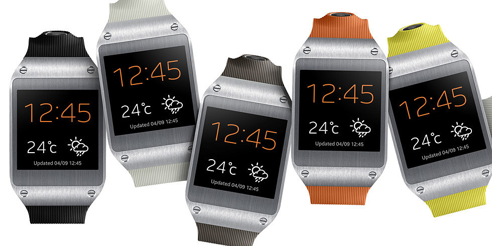 The Watch as Phone: Samsung Debuts Galaxy Gear Smartwatch
