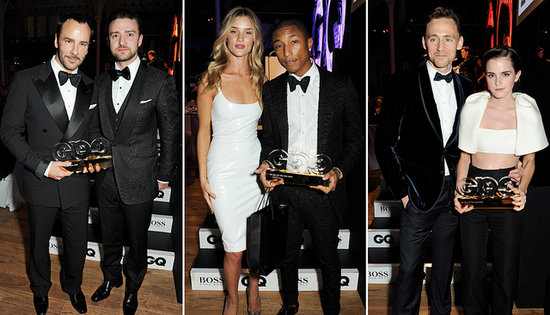 "Justin Timberlake, Emma Watson, and Pharrell Party at the ""Pinnacle of Cool"""