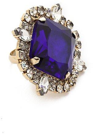 Noir jewelry Gem Cocktail Ring