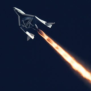 Virgin Galactic Supersonic Flight