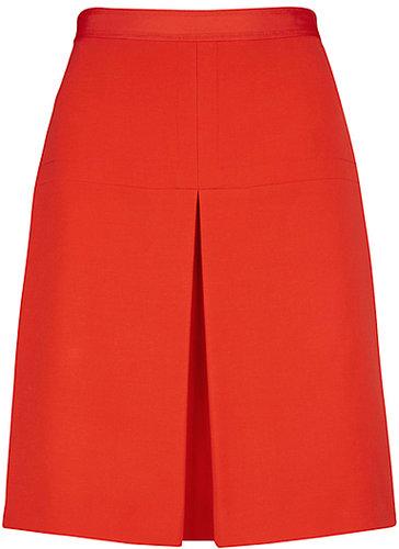 Hobbs Ella Skirt, Fire Red
