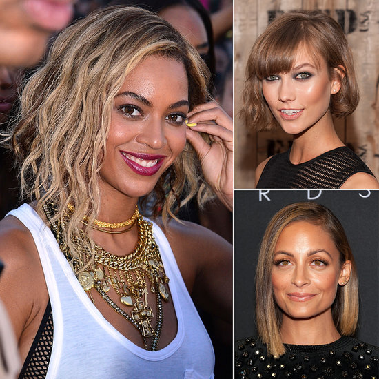 "This Season's New ""It"" Style Is the Asymmetrical Bob"