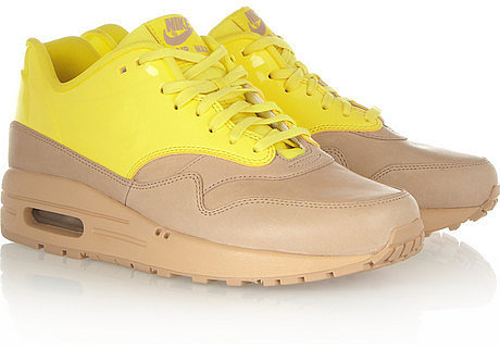 Nike Air Max leather sneakers
