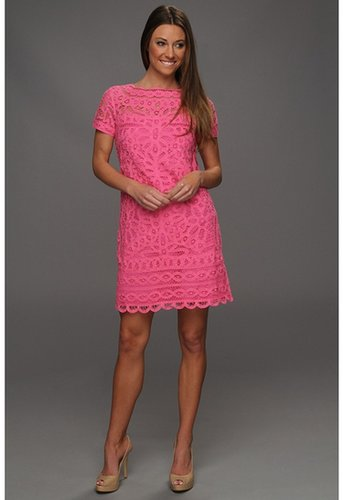 Lilly Pulitzer - MarieKate Dress (Hotty Pink) - Apparel