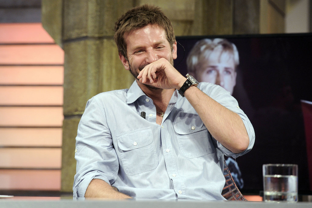 Bradley Cooper was a barrel of laughs on TV.