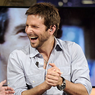 Bradley Cooper on TV in Madrid