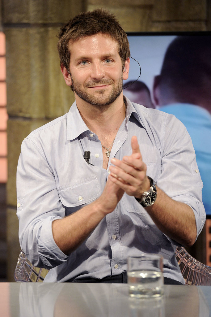 Bradley Cooper visited the TV show El Hormiguero in Spain.