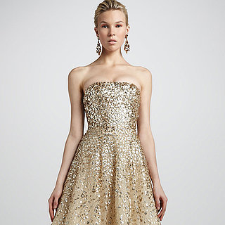 Metallic Wedding Dresses and Accessories | Shopping