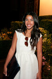 Hannah Bronfman looked lovely in Nonoo at the label's Spring show.