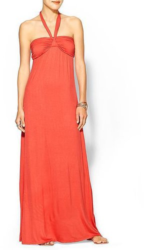 Hive & Honey Strapless Knit Maxi with Bow