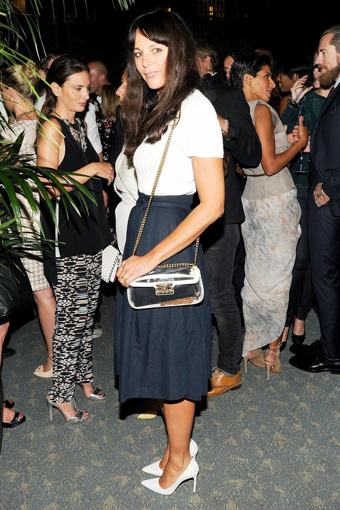 Lisa Marie Fernandez kept it sweet and simple at the WSJ Magazine bash.