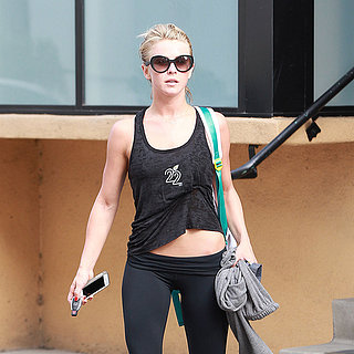 Photos of Celebs Working Out