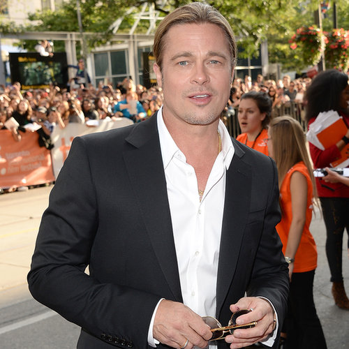 Brad Pitt Looking Hot at Toronto Film Festival Today