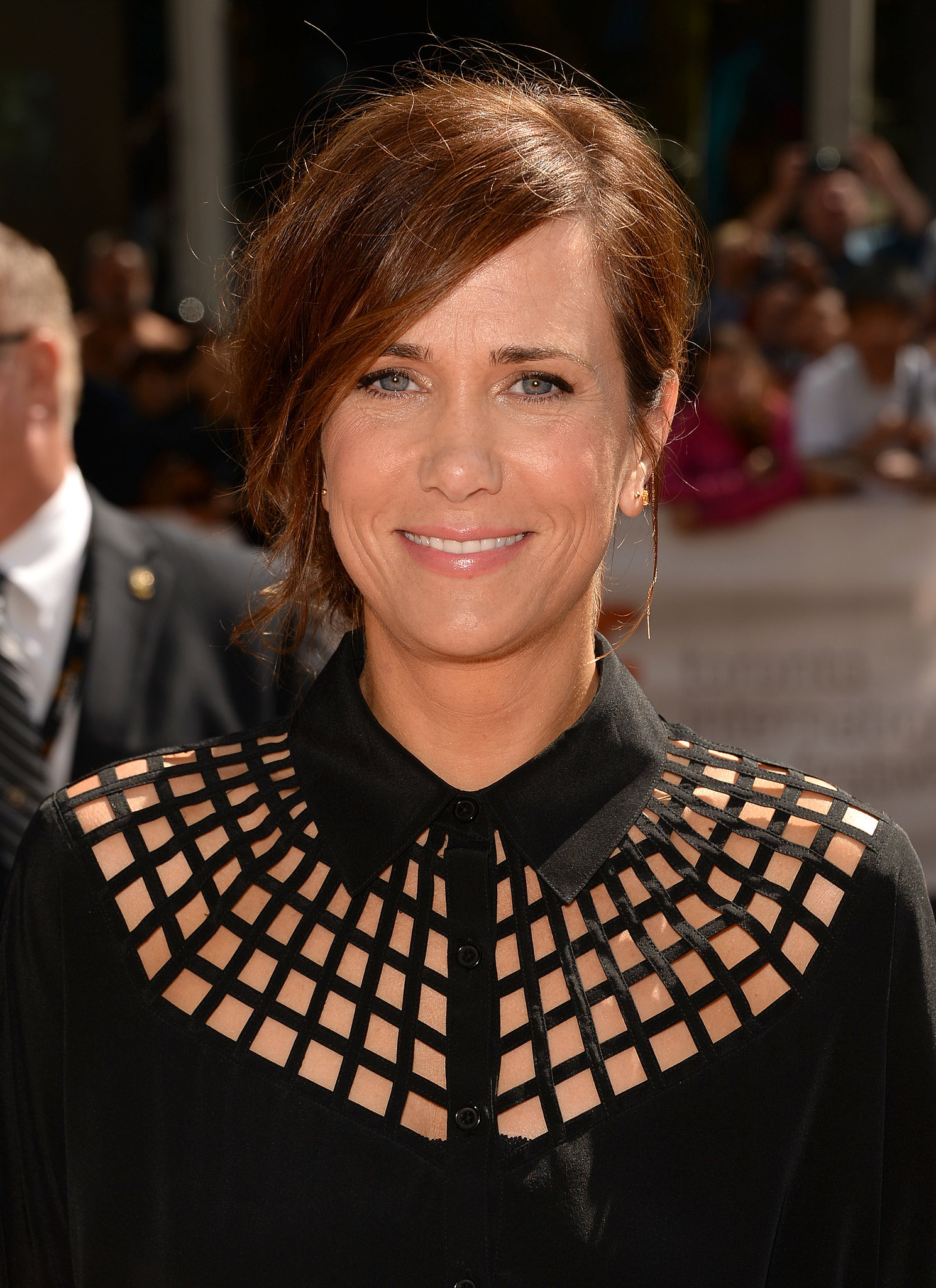 Kristen Wiig wore a fresh-faced makeup look at the Hateship Loveship premiere at TIFF.