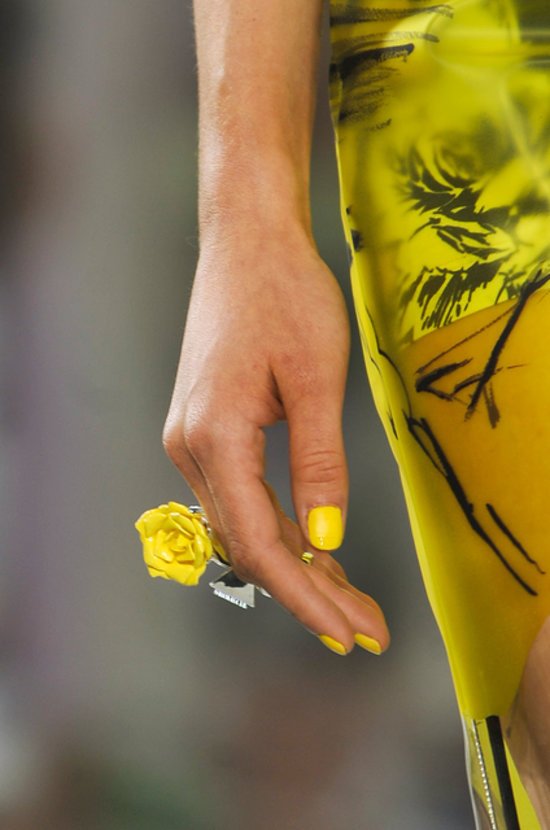 Prabal Gurung Spring 2014  nails