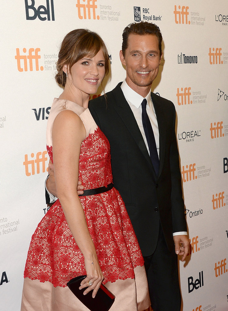 Jennifer Garner and Matthew McConaughey posed together at the premiere.