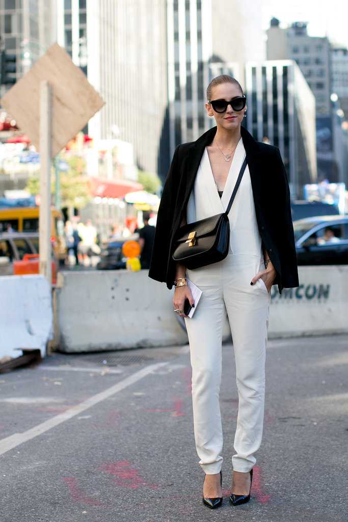 White and black — and impeccably chic.