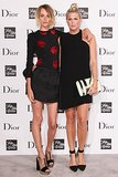At the Saks Fashion Week event, Milou Van Groesen and Alexandra Richards stepped out for Dior.