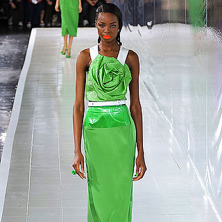 2014 Spring New York Fashion Week Runway Prabal Gurung
