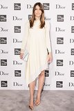 Jessica Biel posed at Dior's prêt-à-porter collection dinner at Saks Fifth Avenue in NYC.