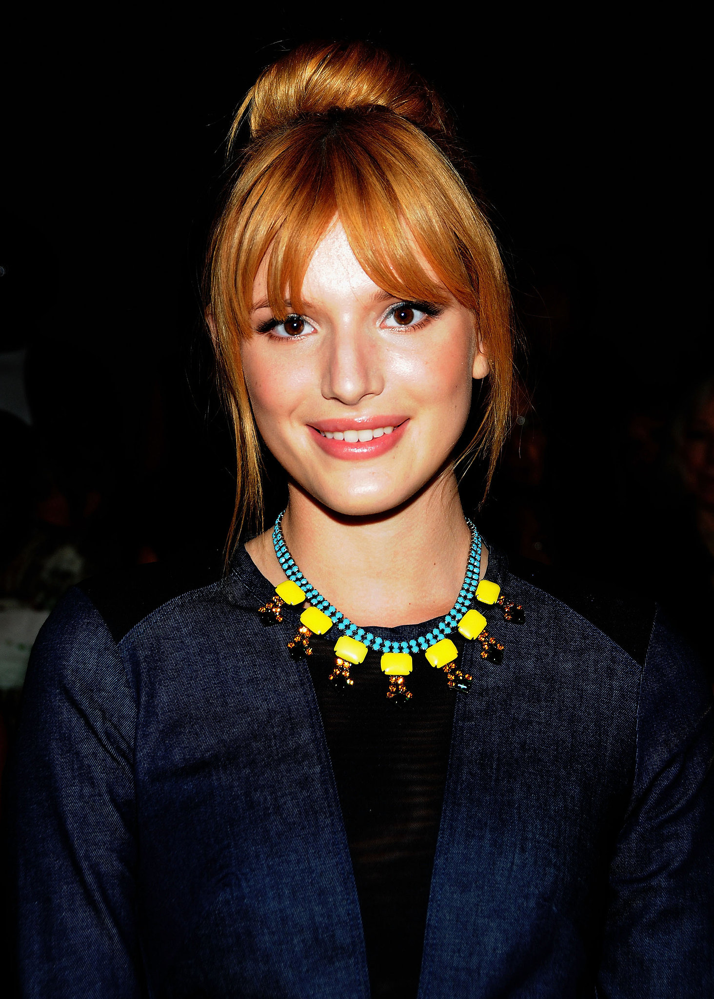 Bella Thorne at Nicole Miller Spring 2014.