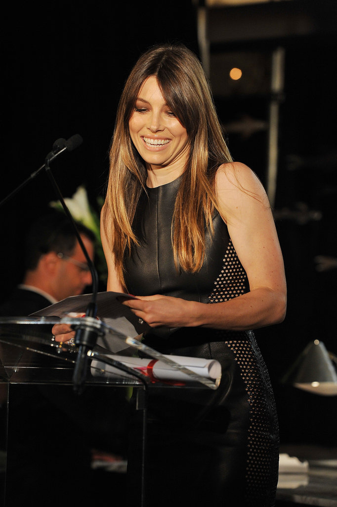 Jessica Biel at Daily Front Row's Fashion Media Awards.