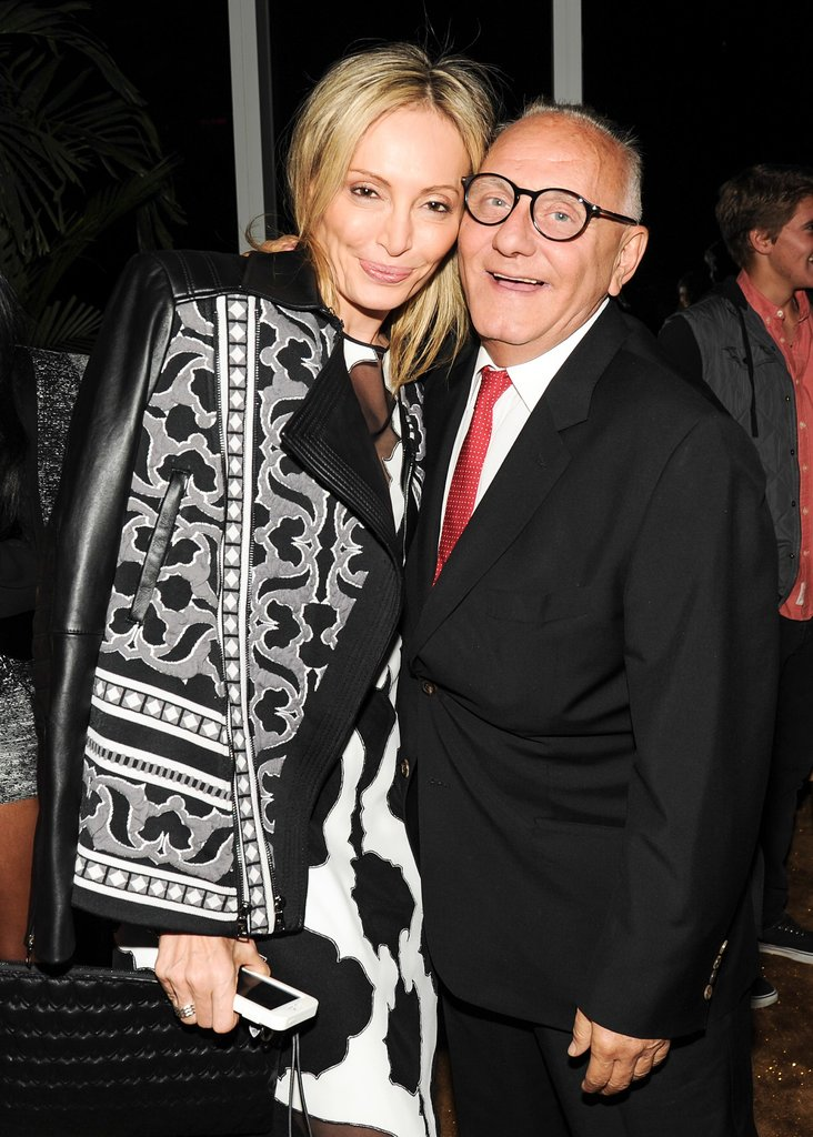 Max and Lubov Azria were beaming with pride after the success of their BCBG Max Azria and Hervé Léger runway shows.