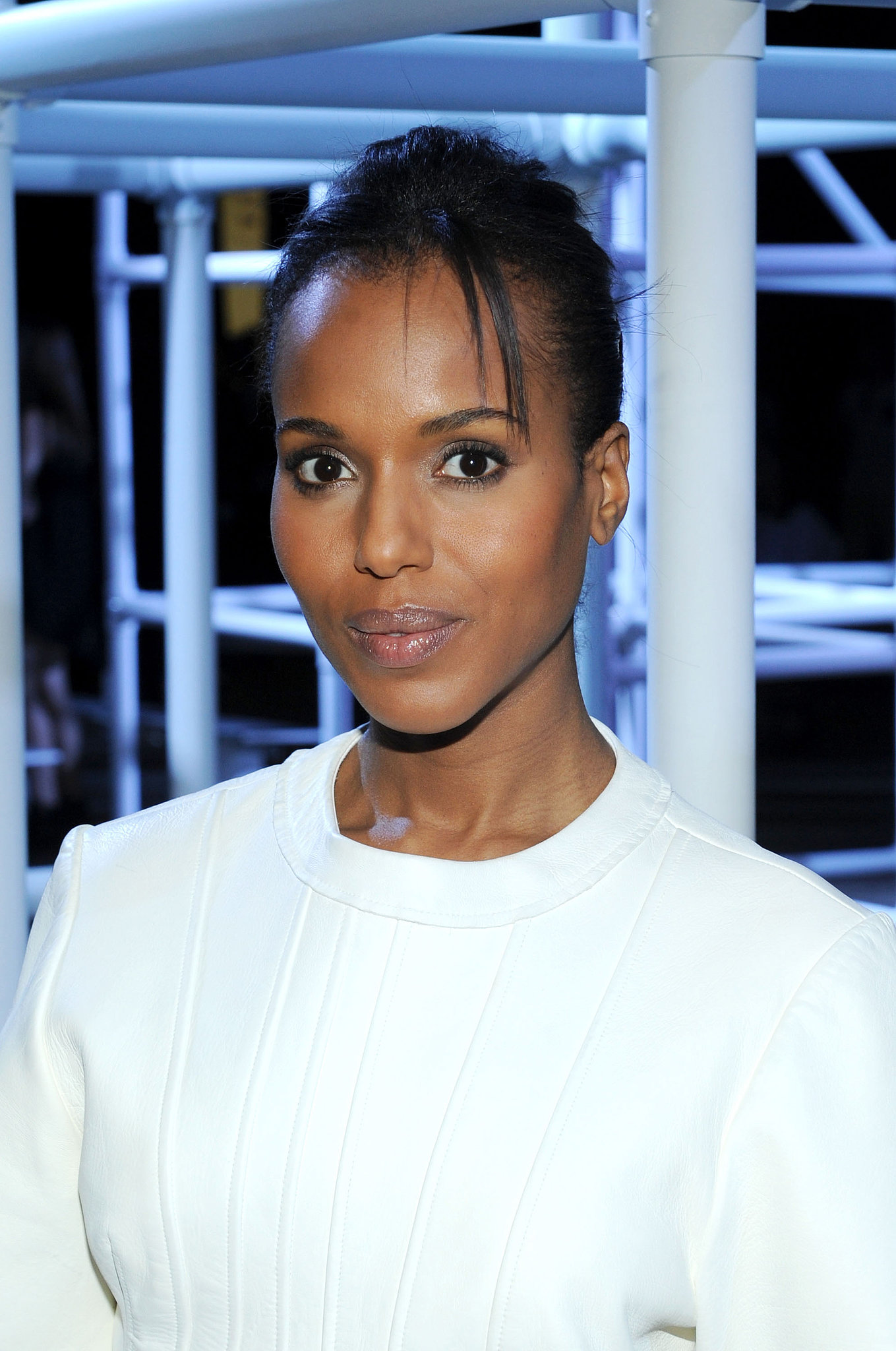 Kerry Washington at Alexander Wang Spring 2014.