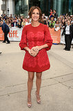 Julia Roberts arrived at the premiere of August: Osage County at the Toronto International Film Festival.