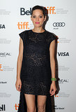 Marion Cotillard stepped out for the Blood Ties premiere.