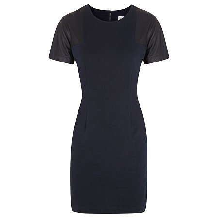 Sea Leather and stretch cotton dress