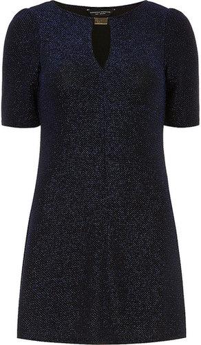 Blue shimmer tunic