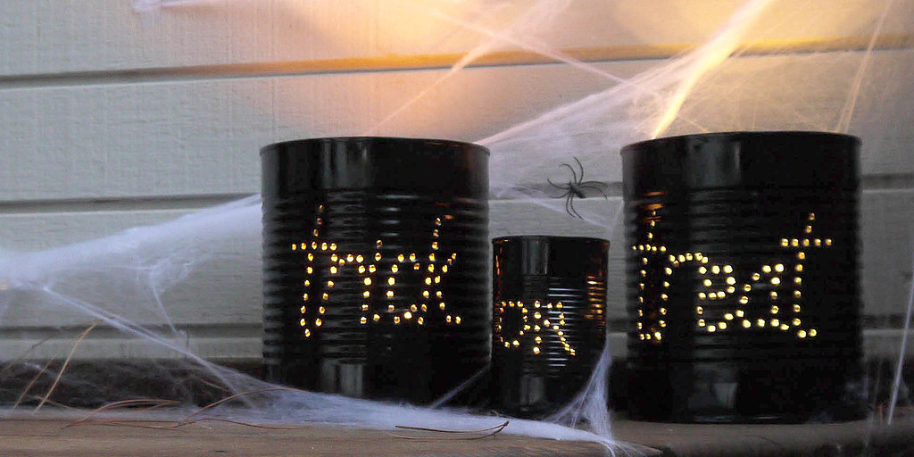 Welcome Halloween With Trick-or-Treat Cans