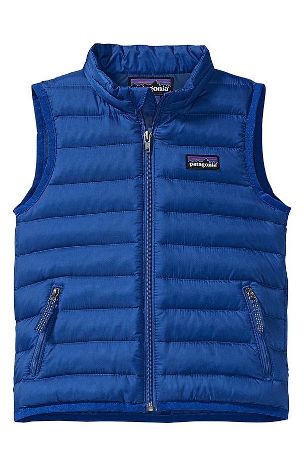 Patagonia's down vest ($79) makes the perfect layering piece for in-between weather.