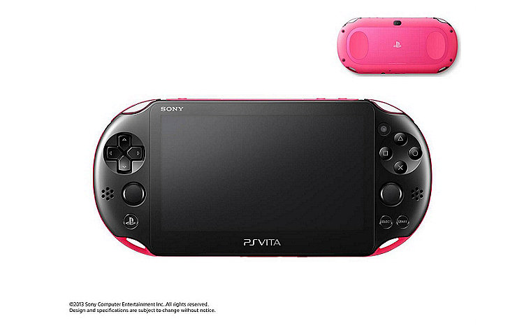 PS Vita PCH-2000 in Pink/Black