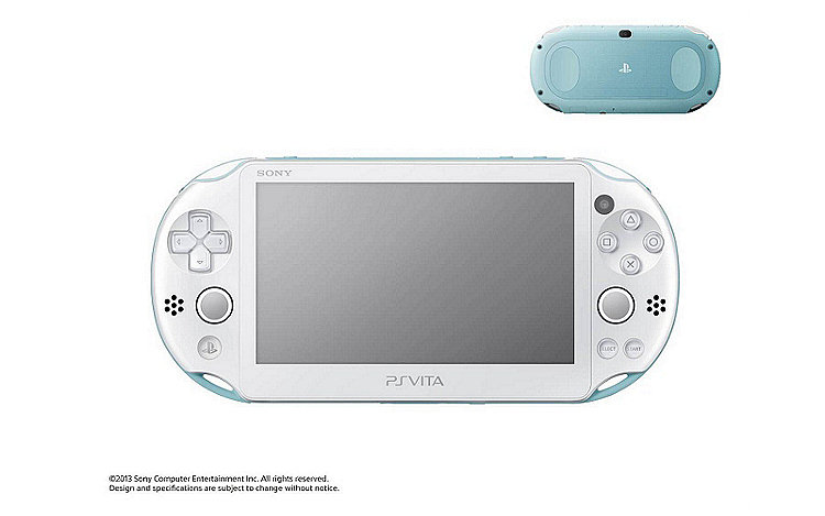 PS Vita PCH-2000 in Light Blue/White