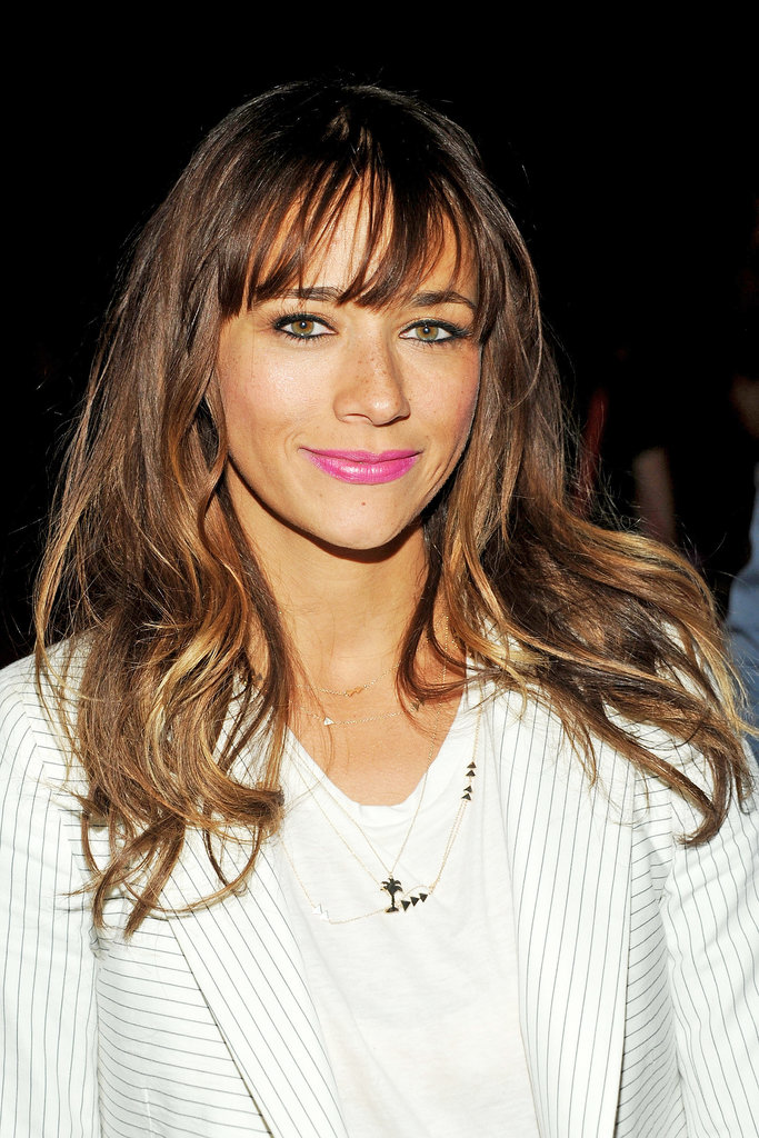Rashida Jones at Band of Outsiders Spring 2014.