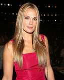 Molly Sims's long, blond hair looks stellar when straight.