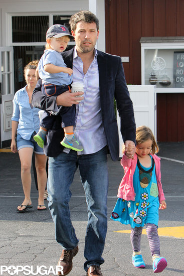 Ben Affleck took his two youngest kids, Seraphina and Samuel, to breakfast in LA.