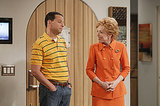 Two and a Half Men Jon Cryer and Evelyn Harper on Two and a Half Men.