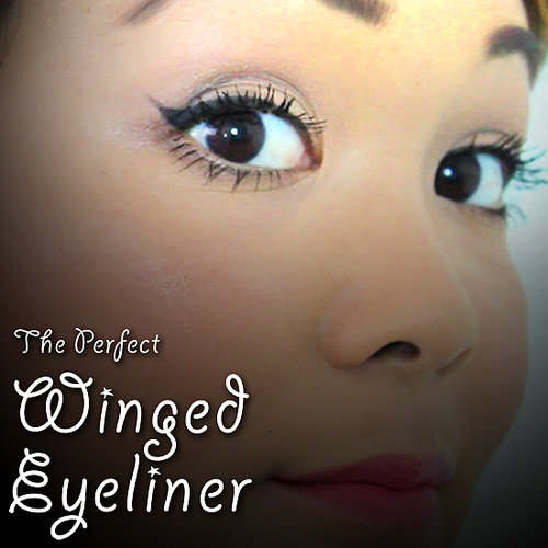 How to Get Perfect Winged Eyeliner