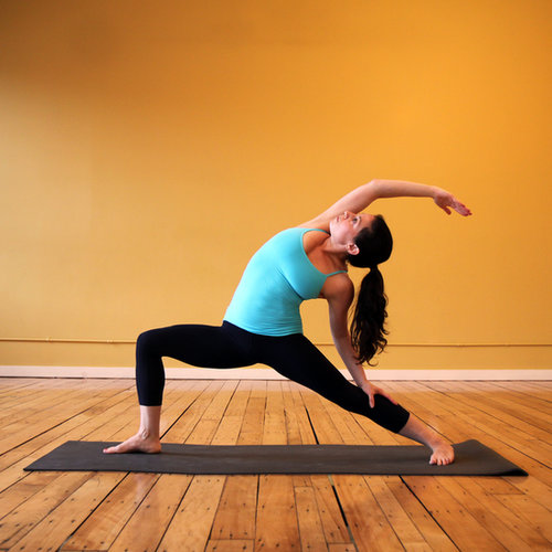 Yoga Exercise to Tone Legs and Bum