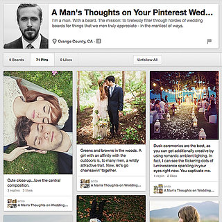 A Man's Thoughts on Your Pinterest Wedding Boards