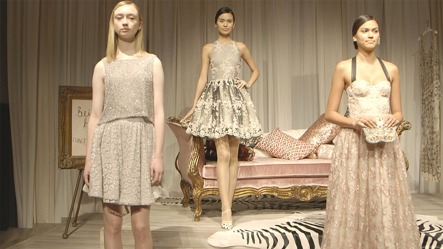 Watch: Alice + Oliva Spring 2014 Presentation