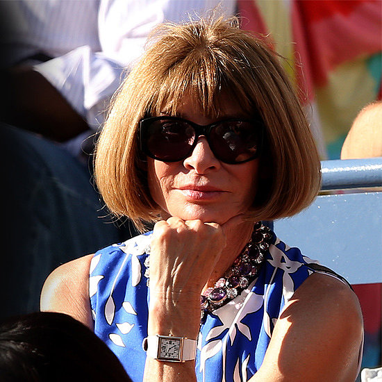 Match Point: Anna Wintour Trades Fashion Week For the US Open