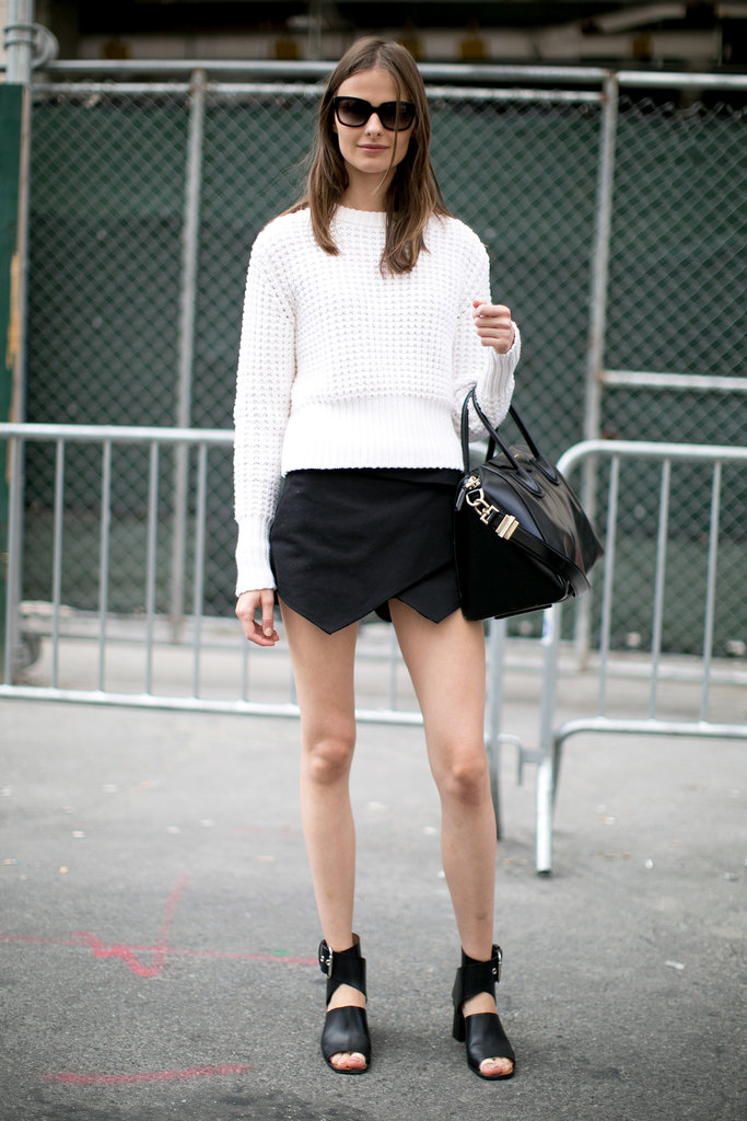 Black and white and impossibly chic.