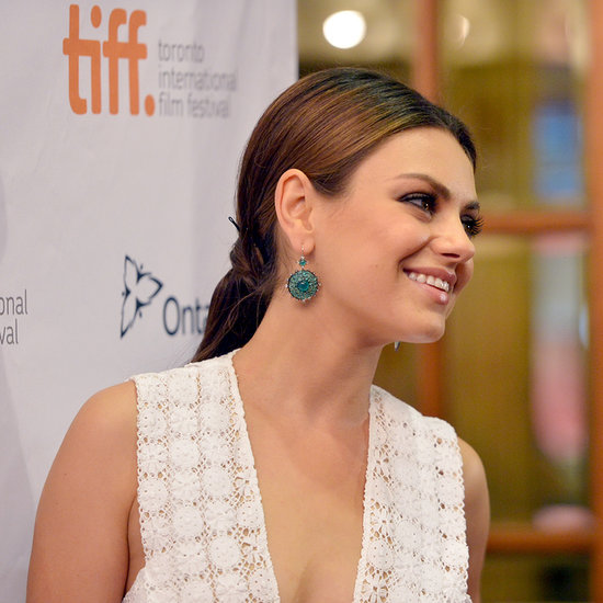 Mila Kunis Hair at 2013 Toronto Film Festival