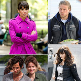 Lea Michele, Charlie Hunnam, Zooey Deschanel, and More Stars on Set
