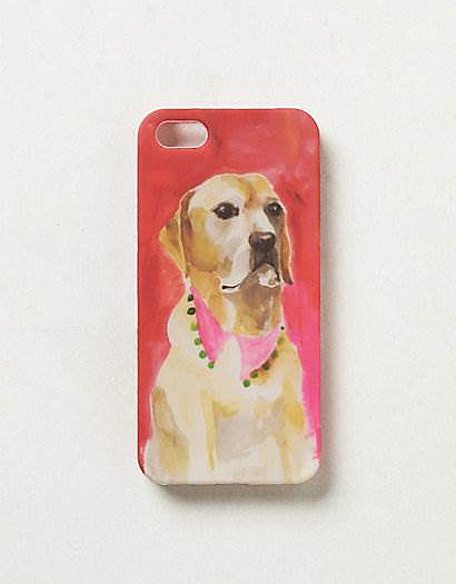 Brushstroke Pup iPhone Case
